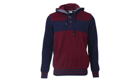 Kapişonlu sweat shirt